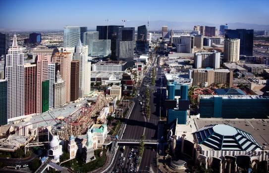 Las Vegas Strip. Original image from Carol M. Highsmith's America, Library of Congress collection.  #394230