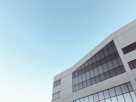 Architecture windows facade sky #39425