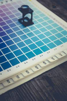 CMYK color management linen tester #394718