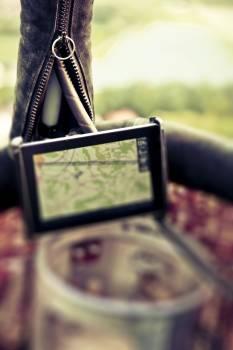 GPS navigation device Free Photo
