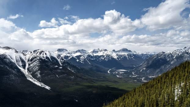 Sulphur mountain in Banff, Canada #395723