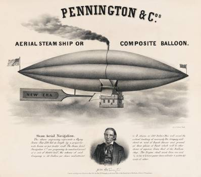 Composite Ballon by Peter Duval. Original from Library of Congress.  #395767