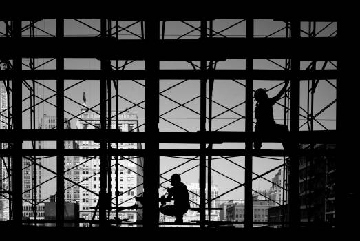 Restoration work on Reading Terminal. Original image from Carol M. Highsmith's America, Library of Congress collection.  #396092