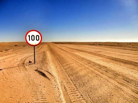 100 Road Sigange #39695