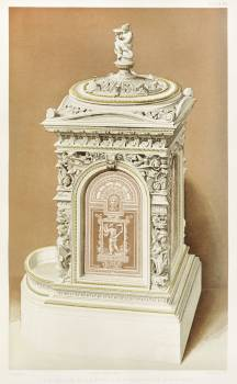 Stove from the Industrial arts of the Nineteenth Century (1851-1853) by Sir Matthew Digby wyatt (1820-1877). #397347