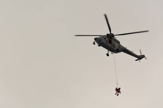 Rescue helicopter - free stock photo #398699