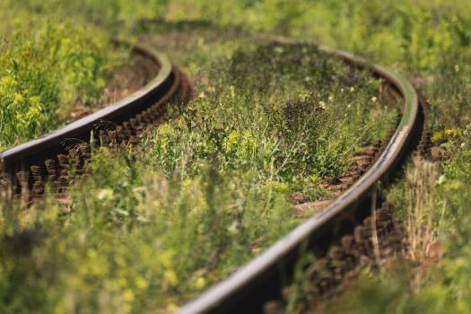 Railway tracks - free stock photo Free Photo