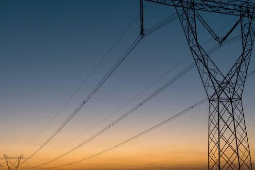 Power lines - free stock photo #398922