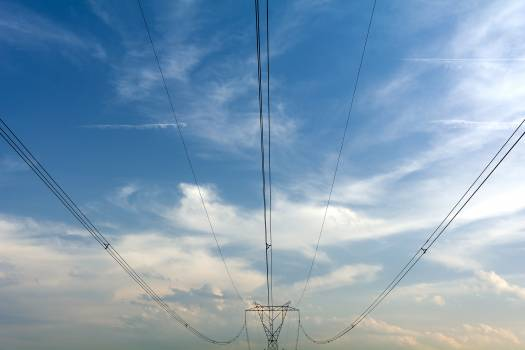 High Voltage Power Lines - free stock photo #398939