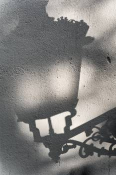 Scary lamp shadow in Prague - free stock photo Free Photo