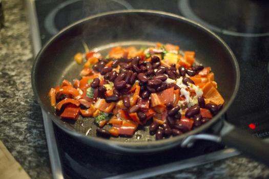 Vegetable Dish on Frying Pan #39901