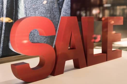 Shopping sale - free stock photo Free Photo