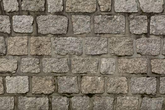 Gray Stone Wall – Texture - free stock photo #399072