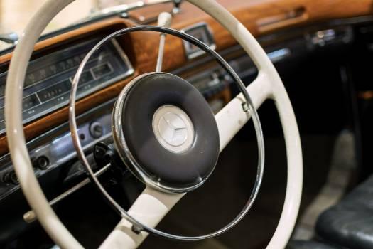 Classic Car Interior - free stock photo #399075
