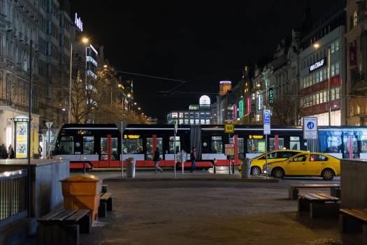 Prague Wenceslas Square at Night - free stock photo #399125