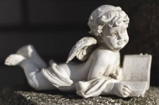 Statue of an Angel on a Grave - free stock photo Free Photo