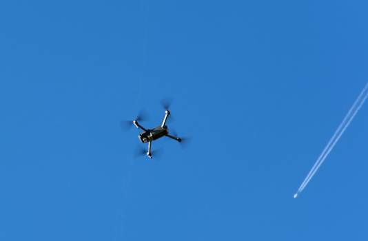 Drone Quadcopter and Aircraft - free stock photo #399262