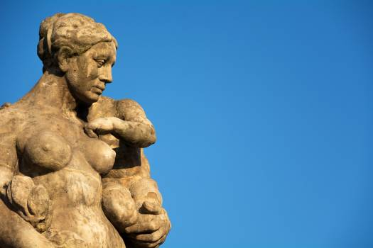 Mother and Child Statue - free stock photo Free Photo
