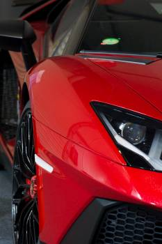 Red super sport car - free stock photo Free Photo