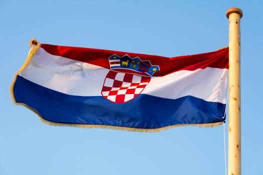 Croatian flag - free stock photo #399308