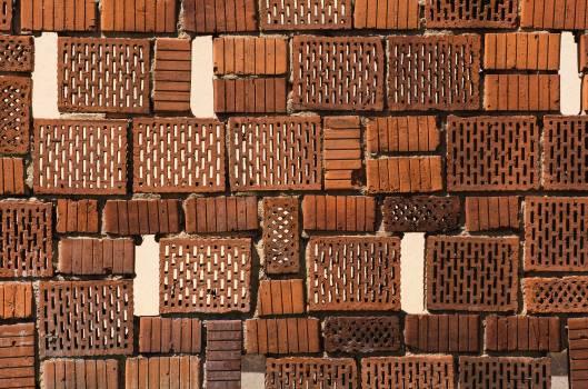 Old Brick Wall - free stock photo #399424
