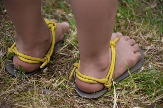 Barefoot Children's Sandals - free stock photo Free Photo