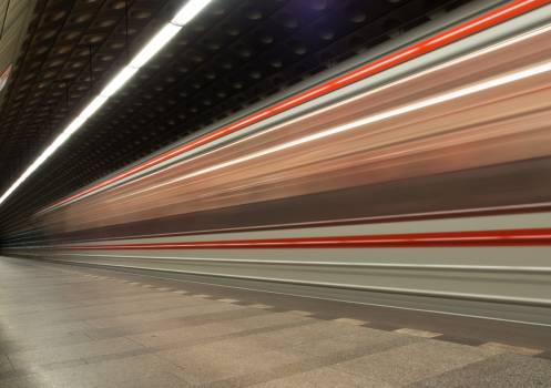 Metro In Motion - free stock photo #399464
