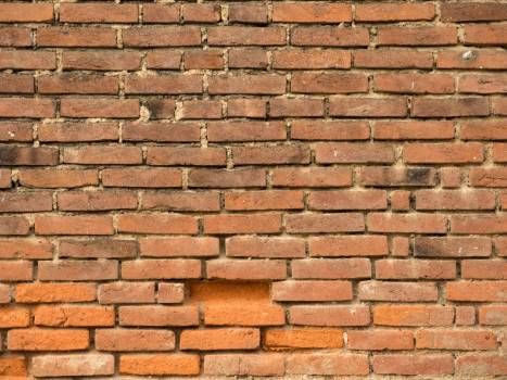 Old Brick Wall - free stock photo Free Photo