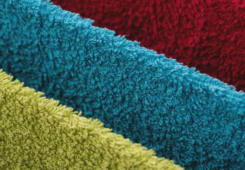 Towels of three colors - free stock photo #399492