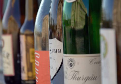 Bottles Of Wine In A Row - free stock photo #399493