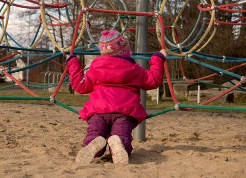 Chidlren On The Jungle Gym - free stock photo #399546