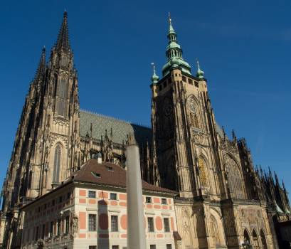 Saint Vitus Cathedral In Prague Castle - free stock photo #399553
