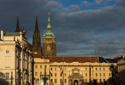 Prague Castle From Hradcany Square - free stock photo #399564