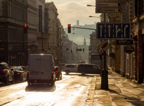 Evening Street In The City - free stock photo #399576