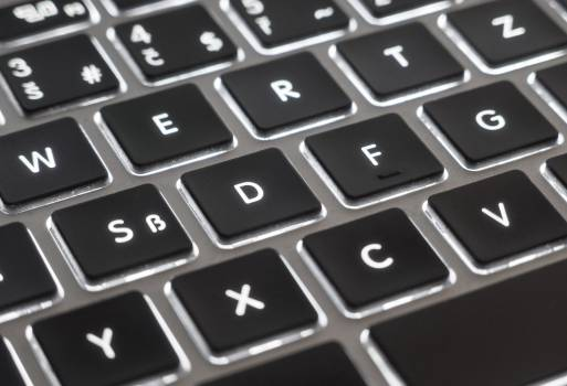 MacBook Air Keyboard Detail - free stock photo #399603