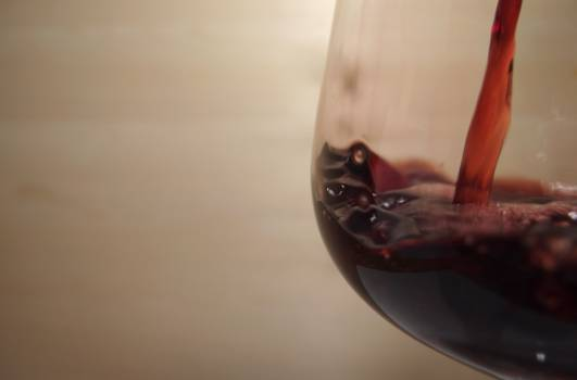 Red Wine With Copy Space - free stock photo #399696