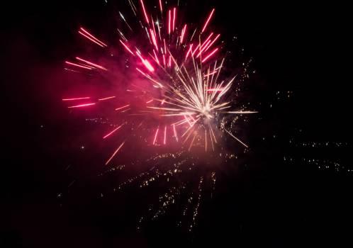 New Year Fireworks - free stock photo #399716