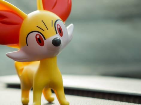 Fennekin Pokemon - free stock photo #399743