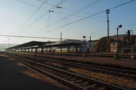 Railway Station Praha Vrsovice - free stock photo Free Photo