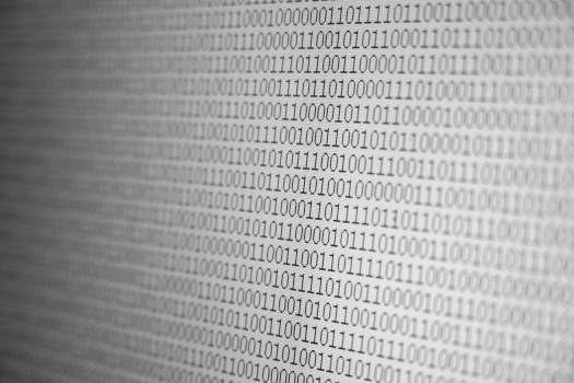 Binary Code - free stock photo #399799
