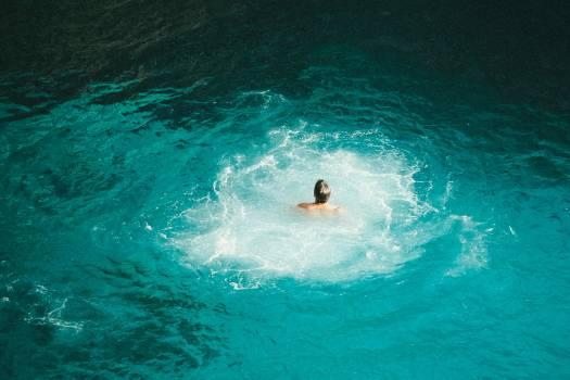 Man on Ocean #39984