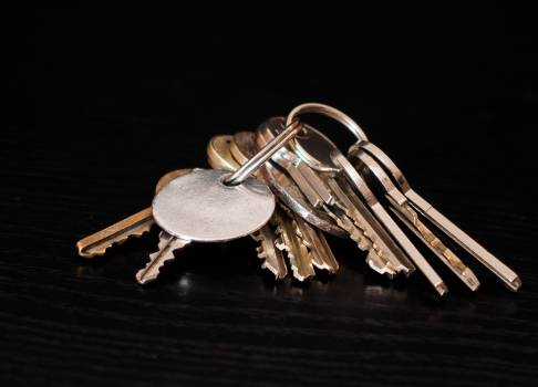 A bunch of keys - free stock photo #399921