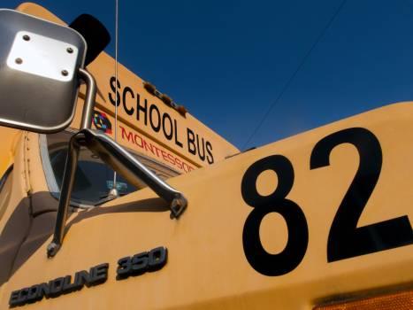 Yellow School Bus - free stock photo #399925