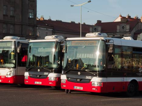 Waiting buses - free stock photo #399937