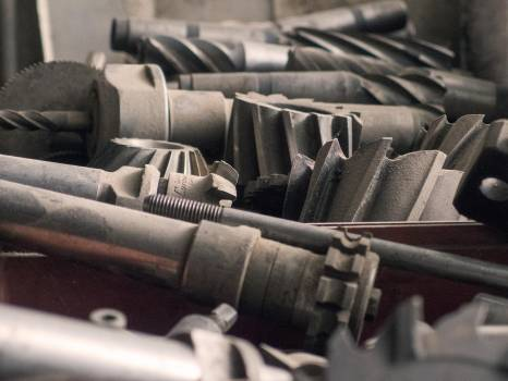 Milling cutters - free stock photo Free Photo