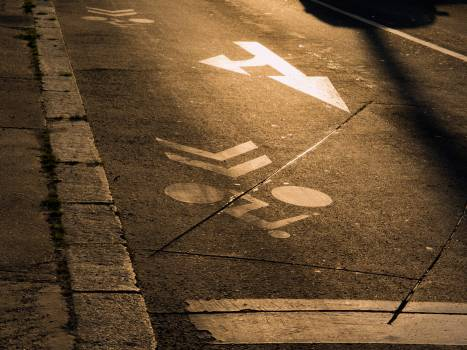 Road markings - free stock photo #399964