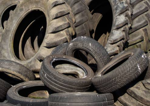 Used Tyres - free stock photo Free Photo