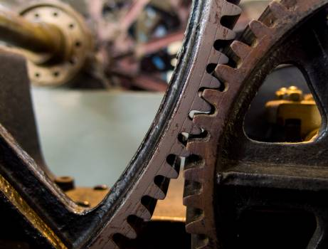 Vintage Cogwheel – Gear - free stock photo #400021