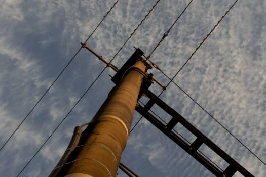 Railway Contact Wires - free stock photo #400119