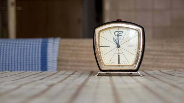 Vintage Design Alarm Clock - free stock photo #400171